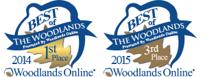 Voted Best of The Woodlands